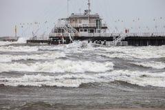 Storm at sea Royalty Free Stock Image