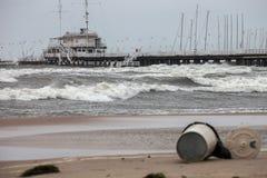 Storm at sea Stock Photos
