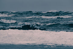 Storm at the sea Royalty Free Stock Photography