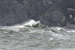 Storm sea Stock Image
