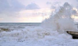 A storm at sea Stock Photos