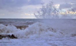 A storm at sea Stock Images