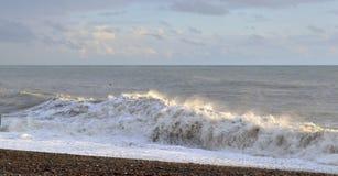 A storm at sea Stock Image