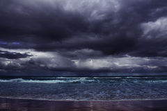 Storm on sea Stock Photos