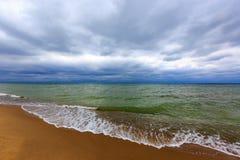 Storm on sea Royalty Free Stock Photo