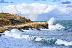 Storm on sea Royalty Free Stock Photography