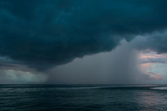 Storm on the sea Royalty Free Stock Image