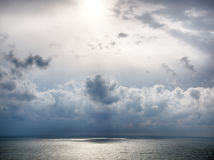 Storm on the sea after a rain Stock Photo
