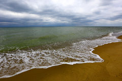 Storm on sea Royalty Free Stock Image