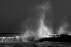 Storm sea waves Stock Image