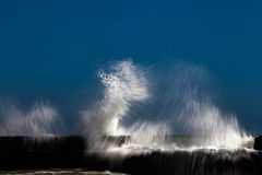 Storm sea waves Royalty Free Stock Photography