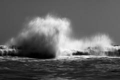 Storm sea waves Royalty Free Stock Photos