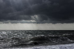 Storm at the sea. Royalty Free Stock Images
