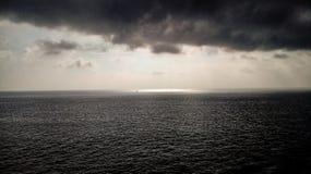 Storm on the seas royalty free stock photos