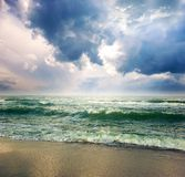 Storm seascape Stock Photo