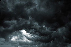 Storm Sky. Beautiful storm sky with clouds, apocalypse like Stock Photos