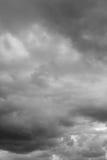 Storm sky, rain. Stock Photos