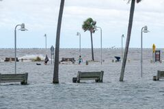 Storm Surge from Hurricane Sally