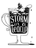 Storm in a teacup Stock Photos