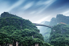 Storm in Three Gorges Stock Photography