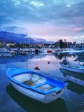 After the storm, Tivat, Montenegro. After the storm in Montenegro Royalty Free Stock Photo