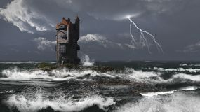 Storm Tower Stock Image