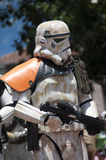 Storm Trooper. Star Wars Strom Trooper walk in parade Royalty Free Stock Photography
