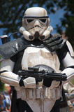Storm Trooper. Star Wars Strom Trooper walk in parade Royalty Free Stock Photos