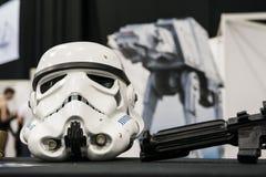 Storm trooper helmet Royalty Free Stock Photo