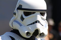 Storm trooper. Helmet close up Royalty Free Stock Images
