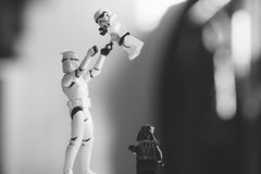 Storm Trooper Lego Toy Stock Photography