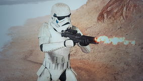 Storm trooper Royalty Free Stock Images