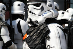 Storm troopers from tar Wars. Stock Photo
