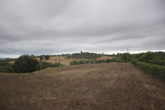 Storm on Tuscany Royalty Free Stock Photos