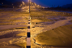 Storm in UAE Royalty Free Stock Image