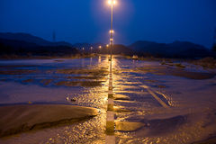 Storm in UAE Royalty Free Stock Photos