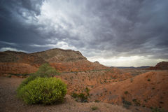 Storm in Valley of Fire Stock Photo