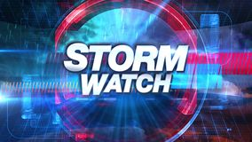 Storm Watch - Broadcast TV Graphics Title