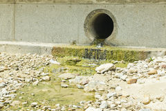 Storm water drain royalty free stock photos