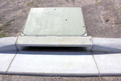 Storm water drain Stock Images