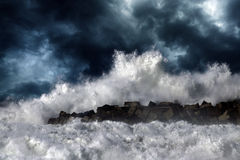 Storm wave Royalty Free Stock Photos