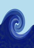 Storm wave Royalty Free Stock Image