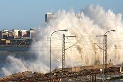 storm waves Στοκ φωτογραφία με δικαίωμα ελεύθερης χρήσης