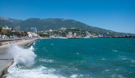 Storm in Yalta Stock Photos