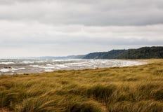 Stormachtig Meer Michigan royalty-vrije stock afbeeldingen