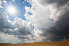 Stormachtig spoedig Stock Foto