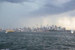 Stormachtig Sydney Stock Afbeeldingen