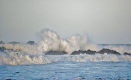 Stormachtig weer…. Stock Foto's