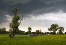 Stormachtig weer Stock Foto's