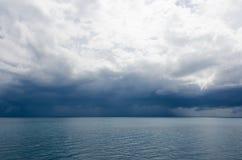 Stormachtig weer Stock Foto